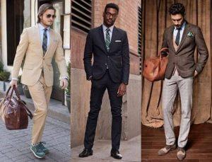 Разнообразие моделей мужских костюмов