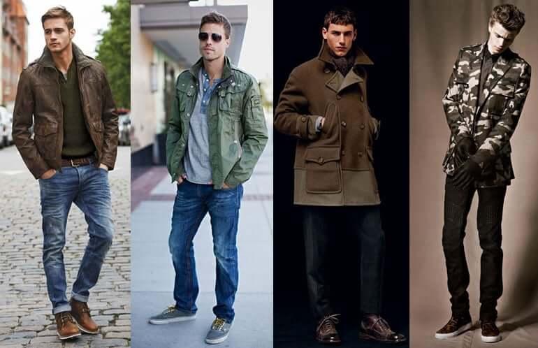 обувь в военном стиле