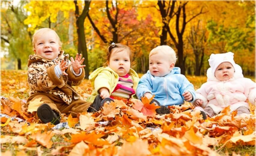 Правила для детской одежды в осенний период времени