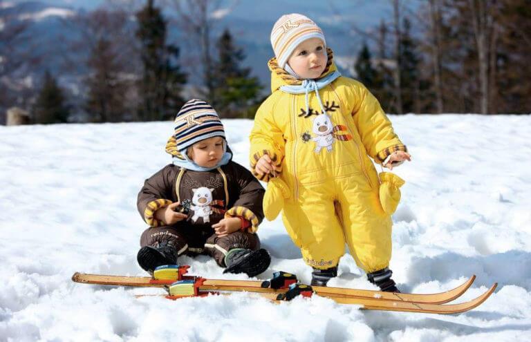 детские комбинезоны на зиму