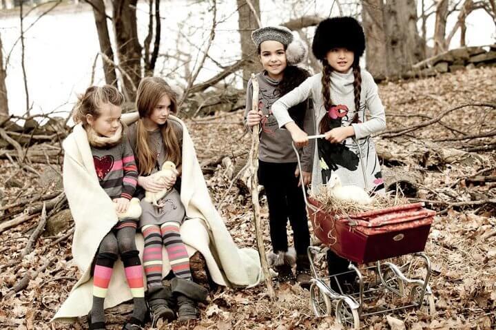 осенняя детская одежда