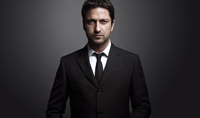 мужской костюм черного цвета