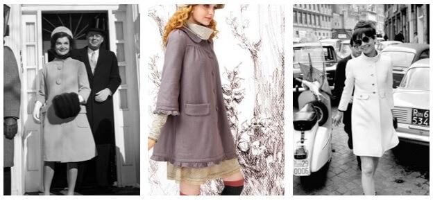 укороченное пальто женское