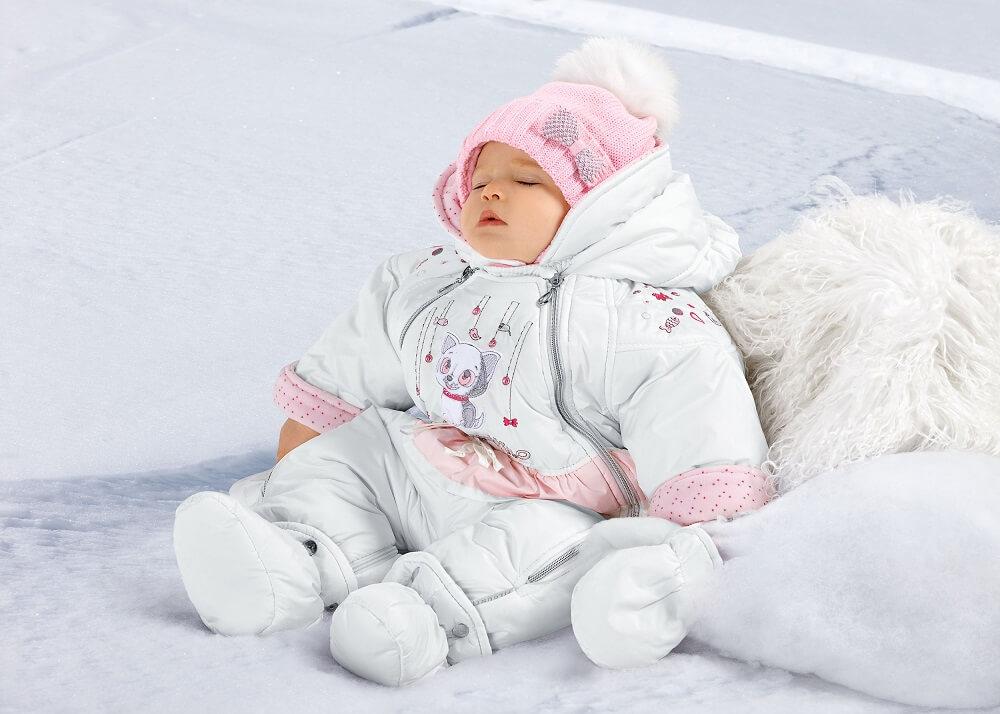 детский комбинезон на зиму