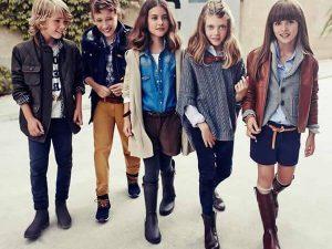 Повседневная детская одежда