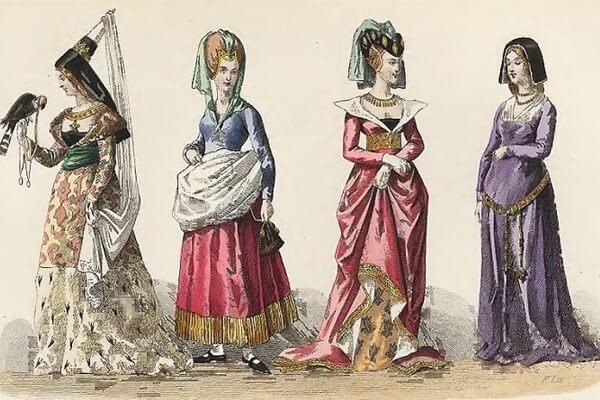Женская одежда эпохи классицизма