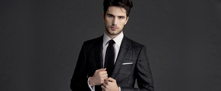 молодежный мужской костюм 2017