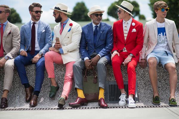 Модели мужских костюмов