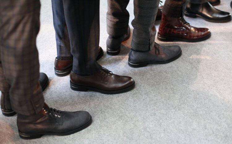 Мужская обувь классическая на осень 2
