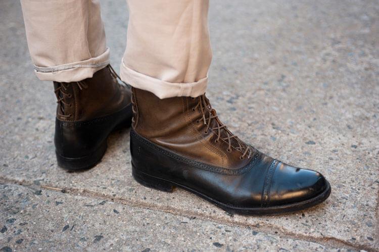 Мужская обувь классическая на осень