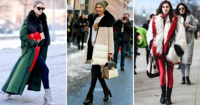 зимняя женская куртка и сумка 2018