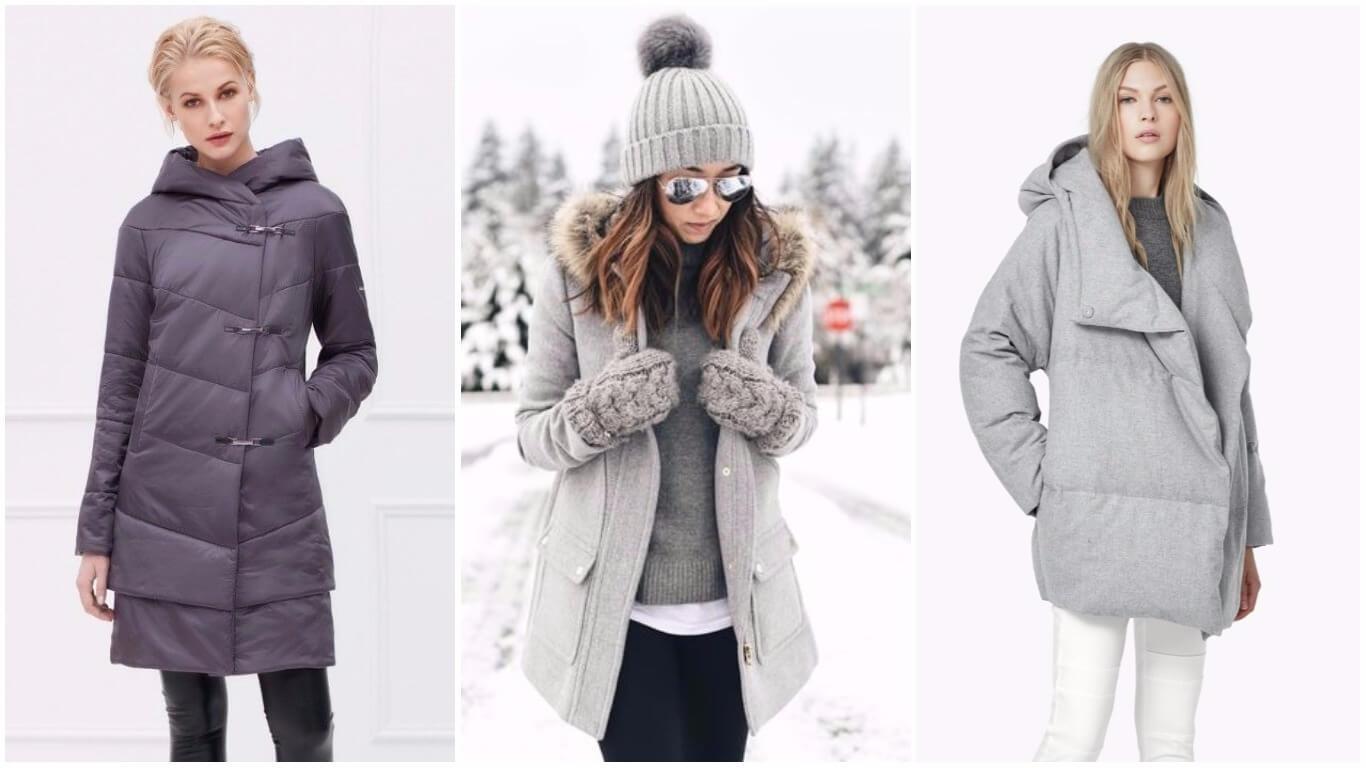 зимняя женская куртка 2018