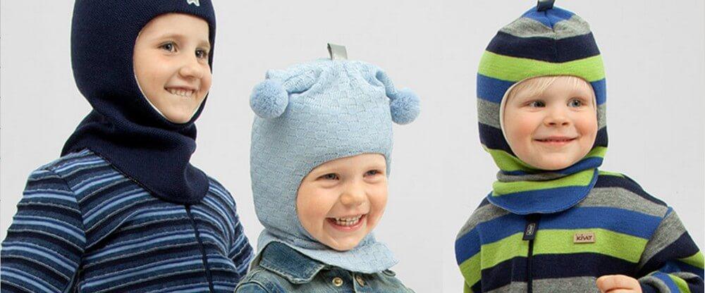 Детские шапки-шлемы Kivat 2