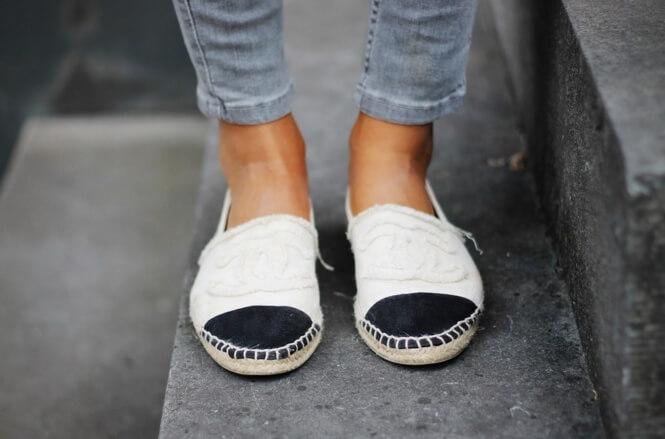 обувь из ткани