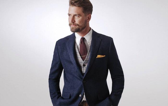 строгий мужской костюм фото